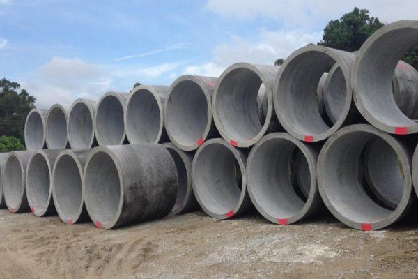 Spun Concrete Pipe Culvert